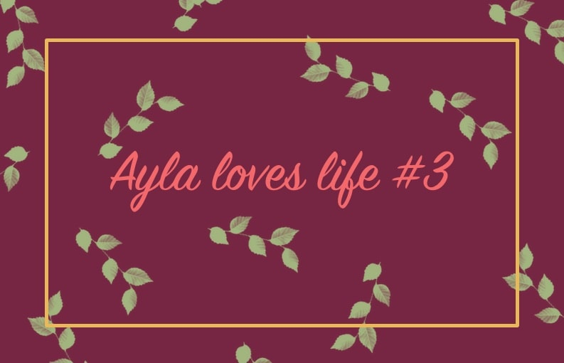 Ayla loves life weekoverzicht #3