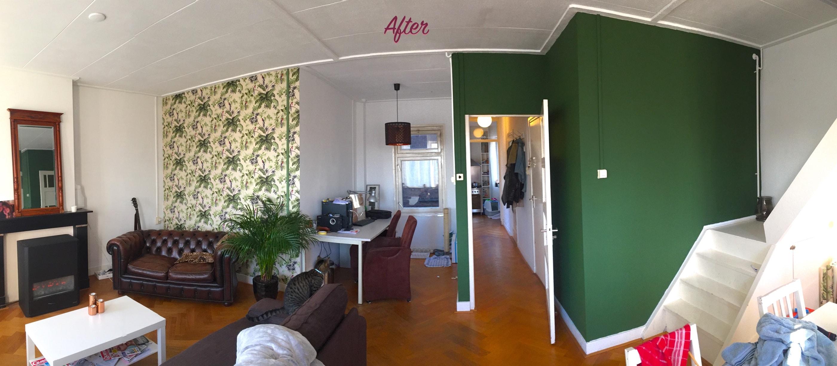 After woonkamer samenwonen