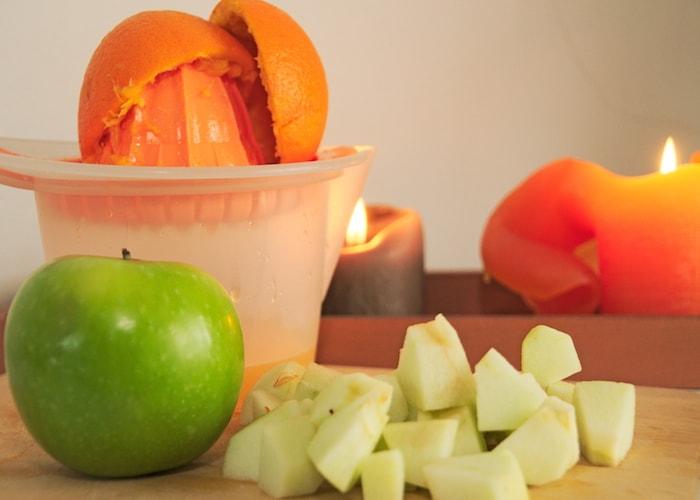 Appelblokjes pompoensoep