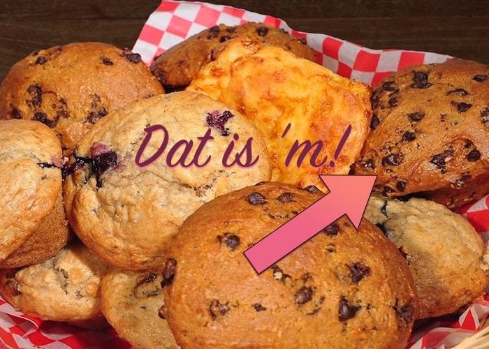 Muffins van Solly's