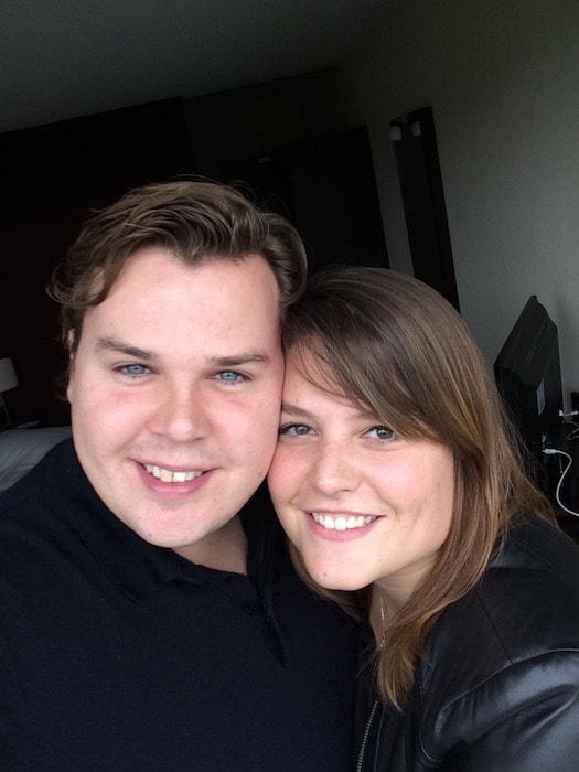 Jan en Ayla 2 jaar verkering