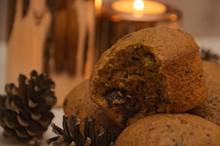 Pumpkin Spice Muffins klaar om te eten!