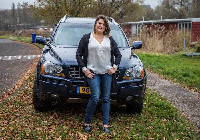 Foto met de auto