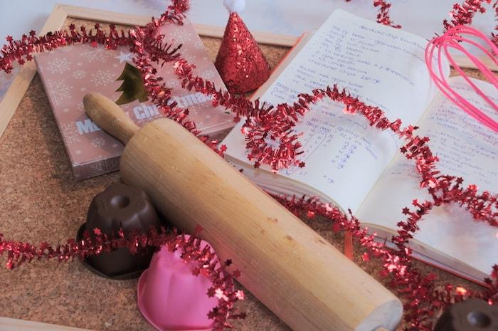 Voorbereiden op het kerstdiner, alles plannen