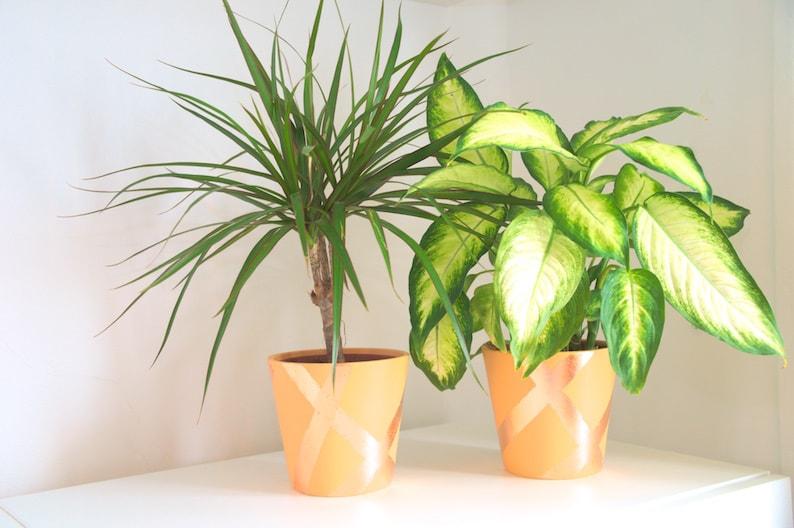 DIY plantenbak met koperblad