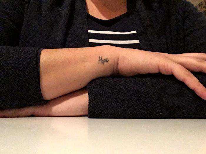 Betekenis tattoos - Hope