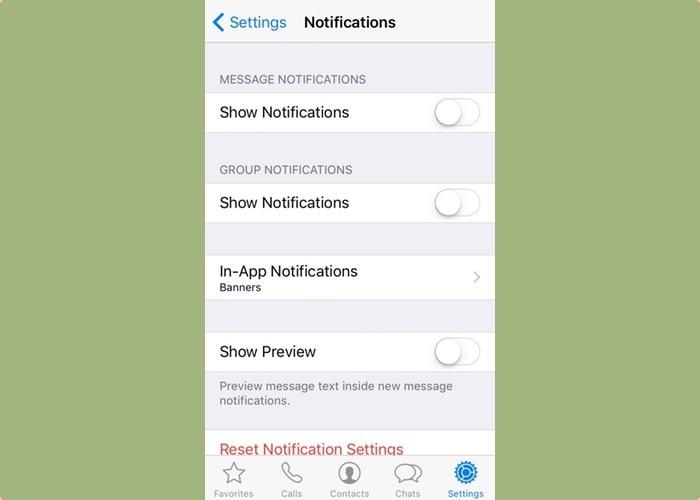 Iphone apps rust - Whatsapp