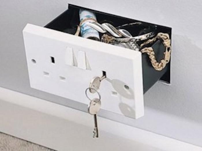 Gadgets in huis: geheime verstopplekjes