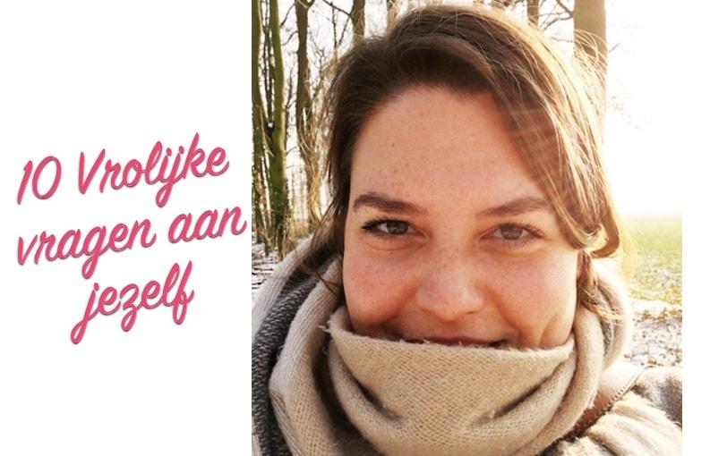 10 vrolijke vragen aan jezelf