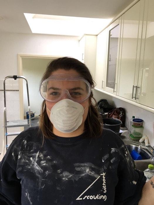 Ayla loves life maart 2017 - Ayla met stofbescherming