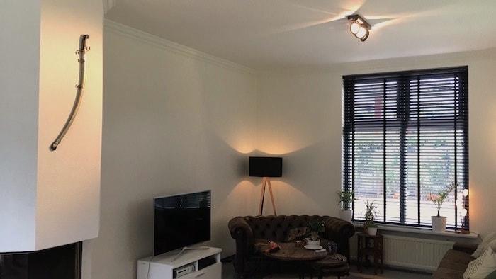 Aankleding van de woonkamer - verlichting