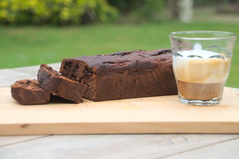 Bananenbrood koffie chocola