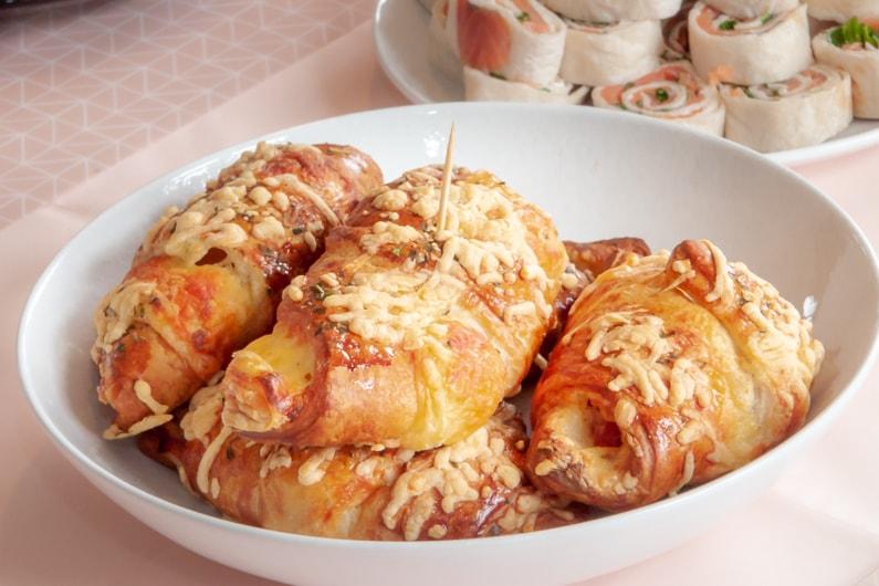 Een lekker recept voor ham kaas croissants